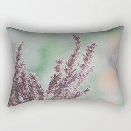 Lavender by the window Rectangular Pillow