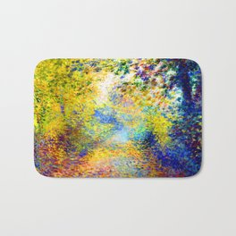 Renoir In the Woods Bath Mat