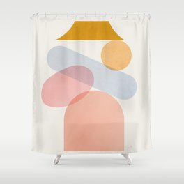 Abstraction_Home_Sweet_Home Shower Curtain