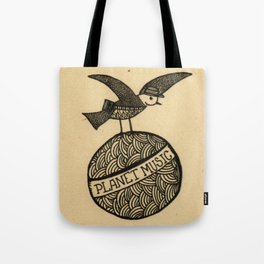 planet music Tote Bag