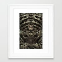 prometheus Framed Art Prints featuring - Prometheus - by Mr.Klevra