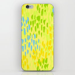 Picnic Pals paint in citrus iPhone Skin