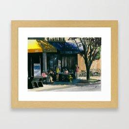 King's Crab Shack Framed Art Print