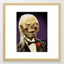 Crypt Keeper Framed Art Print