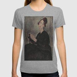 Portrait of Dedie Hayde by Amedeo Modigliani T-shirt