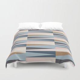 Scandinavian Geometry Pattern Blue #Homedecor Duvet Cover