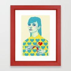 Create I Framed Art Print