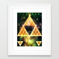triforce Framed Art Prints featuring Triforce by Spires