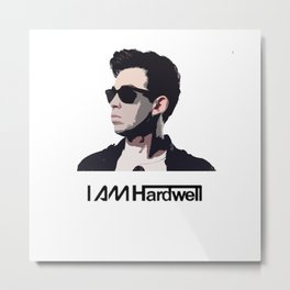 I Am Hardwell Metal Print