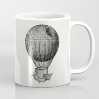 voyage Mugs featuring Dark Voyage by Eric Fan