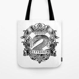 Slytherin Crest Tote Bag