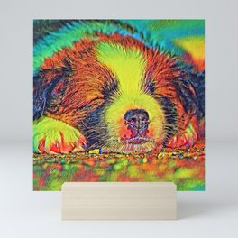 AnimalColor_Dog_017_by_JAMColors Mini Art Print