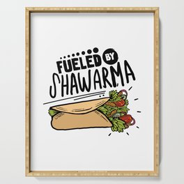 Fueled By Shawarma Serving Tray
