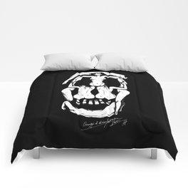 Salvador Dalì Skull Comforters