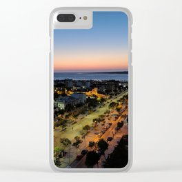Night at the Andalusian Coast Clear iPhone Case