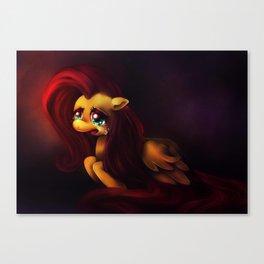 Pinkie Cry Canvas Print