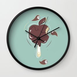 Chocolate Toffee Wall Clock