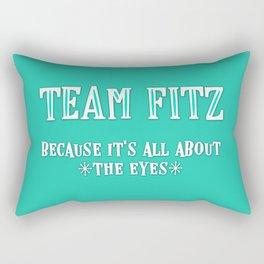 Team Fitz Rectangular Pillow