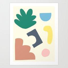 Blobby No.10 Art Print