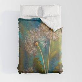 Dandelion Wishes Comforters