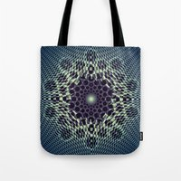portal Tote Bags featuring Portal by Truly Juel