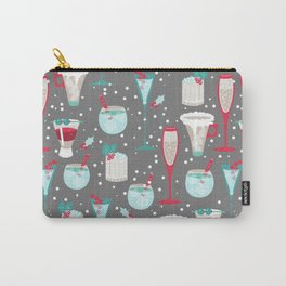 Holiday Cocktails Carry-All Pouch