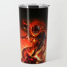 driven by the strength of the enemy Travel Mug