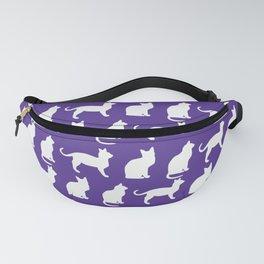 Kitty on Purple Fanny Pack