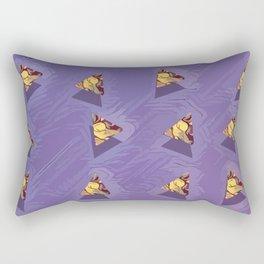 Triangle pattern B2 Rectangular Pillow