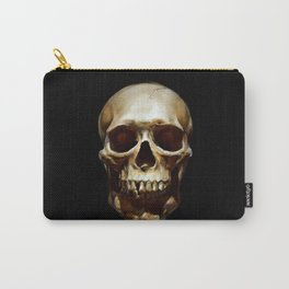 Life. Skull Painting Carry-All Pouch