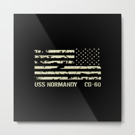 USS Normandy Metal Print