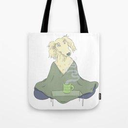 Doga Yoga Tote Bag