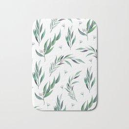 Native Gum Leaves Bath Mat