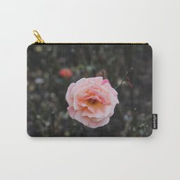 Blooming Blush Rose Carry-All Pouch