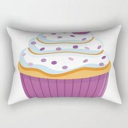 Cartoon Cupcake Rectangular Pillow