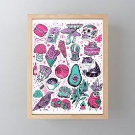Basic Witch II Framed Mini Art Print
