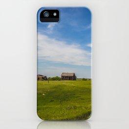 Sod Homestead, Mercer County, ND 2 iPhone Case