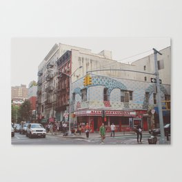 Rivington Street Canvas Print