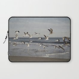 Seagulls in Flight Laptop Sleeve