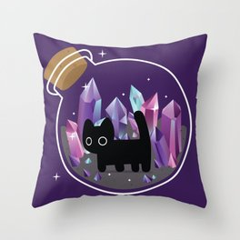 Bottled Smudge Throw Pillow