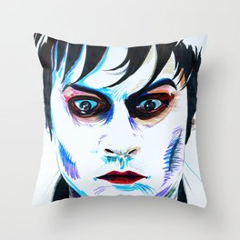 Dark Shadows: Barnabas Collins Throw Pillow