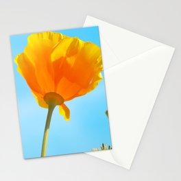 California Golden Poppy Stationery Cards