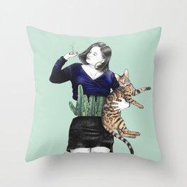 The Great Gaxi Throw Pillow