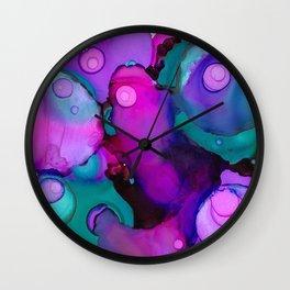 Dye Pot Wall Clock