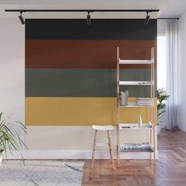 Earth Palette Wall Mural