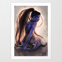 Quiet Dance Art Print