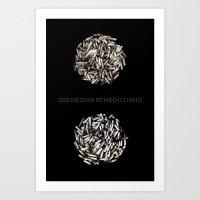 Design of Addictions Art Print