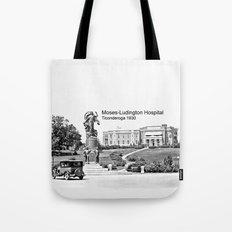 Moses-Ludington Hospital 1930 Tote Bag