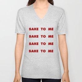 Sake to Me Unisex V-Neck