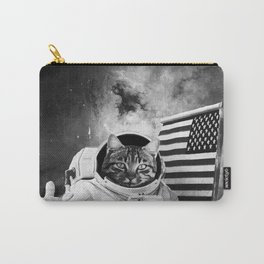 SPACE AMERICAN CAT Carry-All Pouch